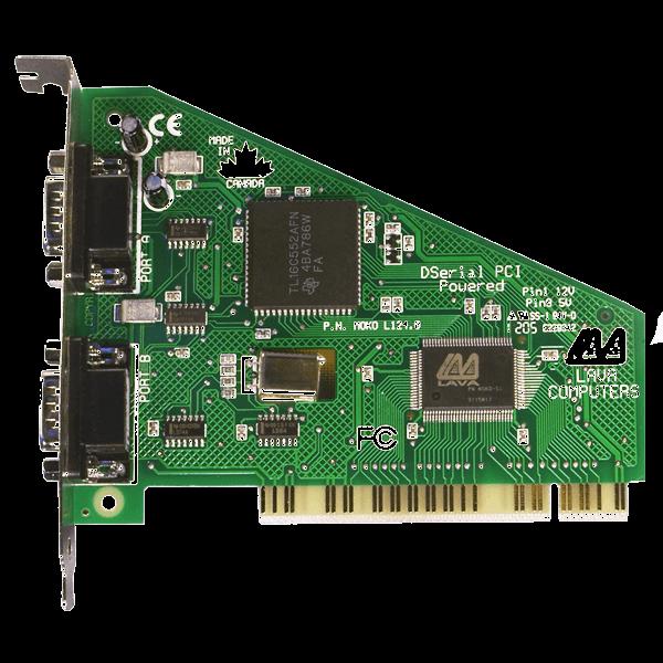 LAVA PCI 2 port RS-232 Powered