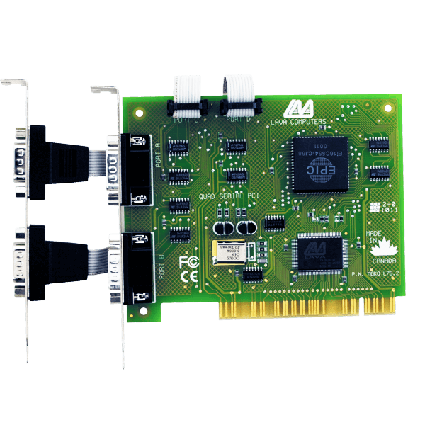 LAVA PCI 4 port RS-232