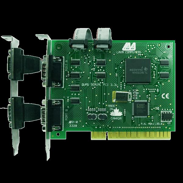 LAVA PCI 4 port RS-232 3.3v