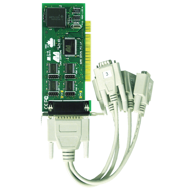 LAVA PCI 4 port RS-232 LP cable