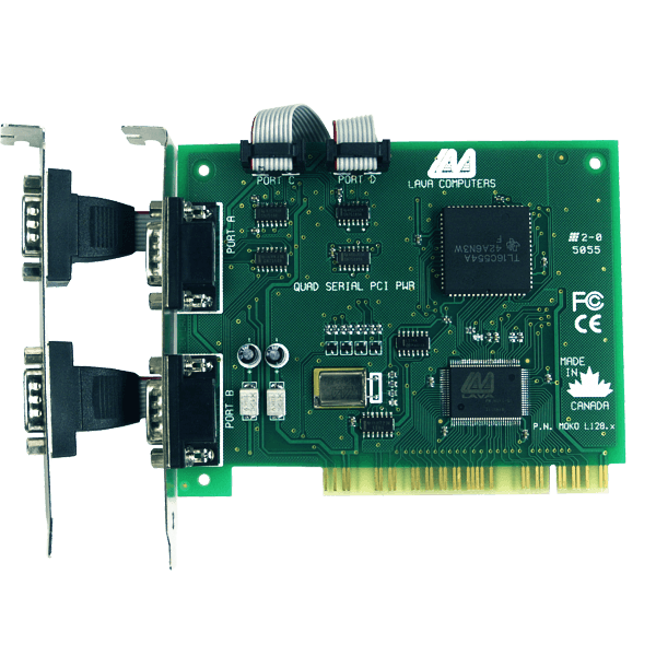 LAVA PCI 4 port RS-232 Powered